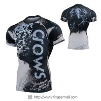 FIXGEAR CFS-80 Compression Base Layer Short Sleeve Shirts