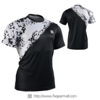 FIXGEAR RM-S07 Men's Casual short sleeve Crew-Neck T-shirt