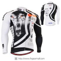 FIXGEAR CS-2201 Men's Cycling Jersey long sleeve