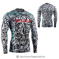 FIXGEAR CFL-89 Compression Base Layer Long Sleeve Shirts