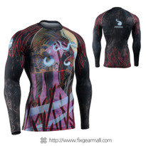 FIXGEAR CFL-90 Compression Base Layer Long Sleeve Shirts
