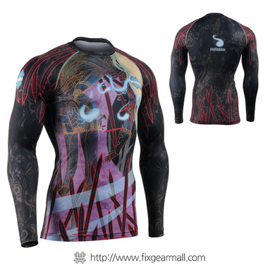 FIXGEAR CFL-90 Compression Base Layer Long Sleeve Shirts