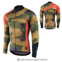 FIXGEAR CS-M201 Men's Long Sleeve Cycling Jersey