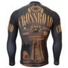 FIXGEAR CS-2701 Men's Cycling Jersey long sleeve rear view