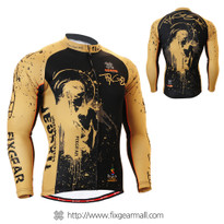 FIXGEAR CS-3201 Men's Cycling Jersey long sleeve
