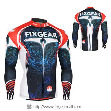 FIXGEAR CS-3501 Men's Cycling Jersey long sleeve