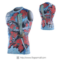 FIXGEAR CFN-H77 Compression Base Layer Sleeveless Shirts