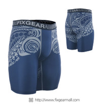 FIXGEAR FP5-S12 Compression Base Layer Shorts with Wide Waistband