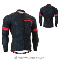 FIXGEAR CS-g601 Men's Cycling Jersey long sleeve