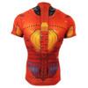 FIXGEAR CS-802 Men's Cycling Jersey Short Sleeve rear view