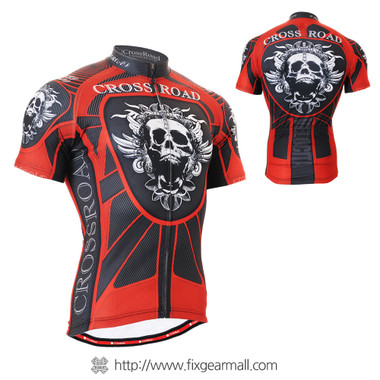 FIXGEAR CS-1302 Men's Cycling Jersey Short Sleeve