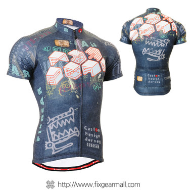 FIXGEAR CS-1502 Men's Cycling Jersey Short Sleeve
