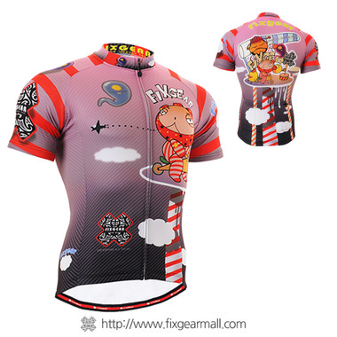 FIXGEAR CS-1602 Men's Cycling Jersey Short Sleeve