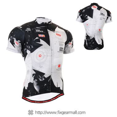FIXGEAR CS-1702 Men's Cycling Jersey Short Sleeve