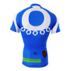 FIXGEAR CS-2602 Men's Cycling Jersey Short Sleeve Rear