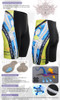 FIXGEAR ST-19B Mens Cycling Padded Shorts Description