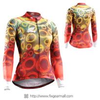 FIXGEAR CS-W401 Women's Long Sleeve Cycling Jersey
