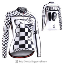 FIXGEAR CS-W601 Women's Long Sleeve Cycling Jersey