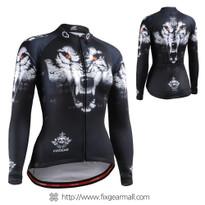 CS-W1801 Women's Long Sleeve Cycling Jersey