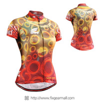FIXGEAR CS-W402 Women's Short Sleeve Cycling Jersey