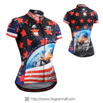 FIXGEAR CS-W1002 Women's Short Sleeve Cycling Jersey