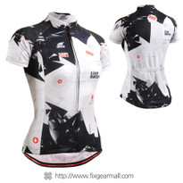 FIXGEAR CS-W1702 Women's Short Sleeve Cycling Jersey