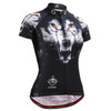 FIXGEAR CS-W1802 Women's Short Sleeve Cycling Jersey front view