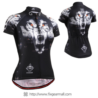 FIXGEAR CS-W1802 Women's Short Sleeve Cycling Jersey