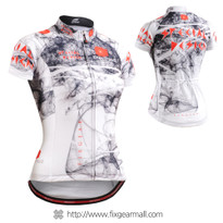 FIXGEAR CS-W2102 Women's Short Sleeve Cycling Jersey