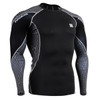 FIXGEAR C3L-B70 Compression Base Layer Shirts front view