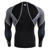 FIXGEAR C3L-B70 Compression Base Layer Shirts back view