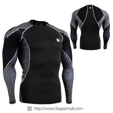 FIXGEAR C3L-B70 Compression Base Layer Shirts