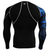 FIXGEAR CP-B1 Compression Base Layer Shirts back view