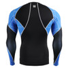 FIXGEAR C3L-B70B Compression Base Layer Shirts rear view