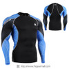 FIXGEAR C3L-B70B Compression Base Layer Shirts