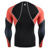 FIXGEAR C3L-B70R Compression Base Layer Shirts rear view