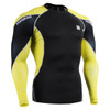FIXGEAR C3L-B70Y Compression Base Layer Shirts front view