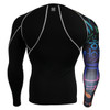 FIXGEAR CP-B3 Compression Base Layer Shirts rear view