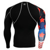 FIXGEAR CP-B10 Compression Base Layer Shirts rear view