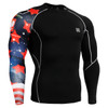 FIXGEAR CP-B10 Compression Base Layer Shirts front view