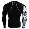 FIXGEAR CP-B17 Compression Base Layer Shirts rear view