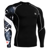 FIXGEAR CP-B17 Compression Base Layer Shirts front view