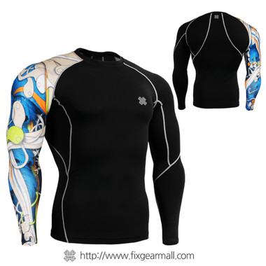 FIXGEAR CP-B19B Compression Base Layer Shirts