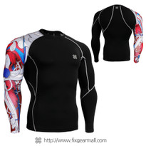FIXGEAR CP-B19R Compression Base Layer Shirts