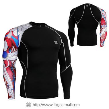 FIXGEAR CP-B19R Compression Base Layer Shirts