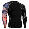 FIXGEAR CP-B28 Compression Base Layer Shirts front