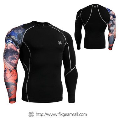 FIXGEAR CP-B28 Compression Base Layer Shirts