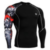 FIXGEAR CP-B30 Compression Base Layer Shirts Front