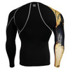 FIXGEAR CP-B32 Compression Base Layer Shirts Rear