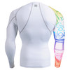 FIXGEAR CP-W3 Compression Base Layer Shirts rear